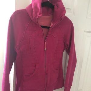 Lululemon fleece lined zip up